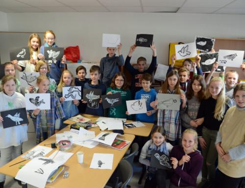 Schüler der Bischöflichen Realschule Warendorf gestalten Projekttage