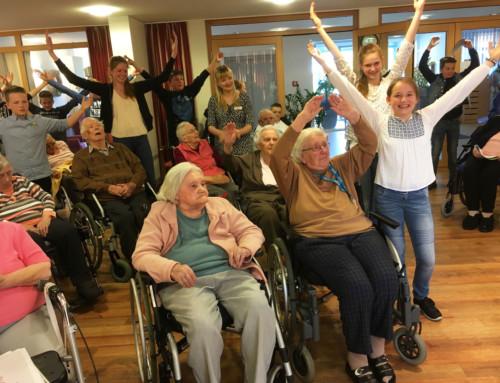 Engel für dich – die 7a besucht das Seniorenheim Eichenhof