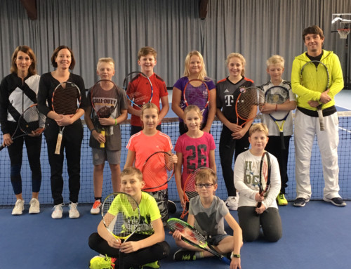 Tennis-AG an der BRS