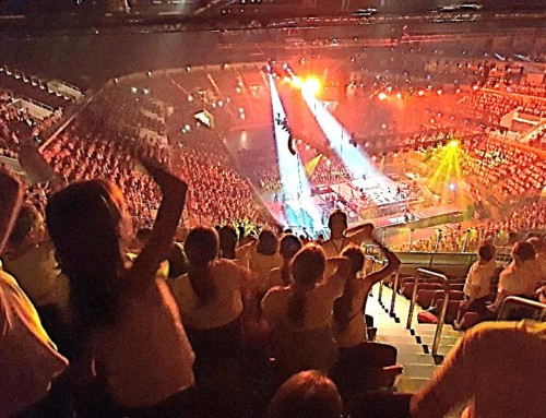 Bischöfliche Realschule beim 6K UNITED!-Konzert im ISS Dome Düsseldorf