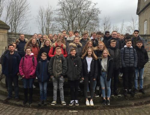 Projekttage zur NS-Zeit: Fahrt der 10er zur Wewelsburg